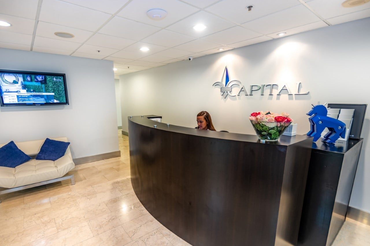 Miami Live Receptionist and Business Address Lobby