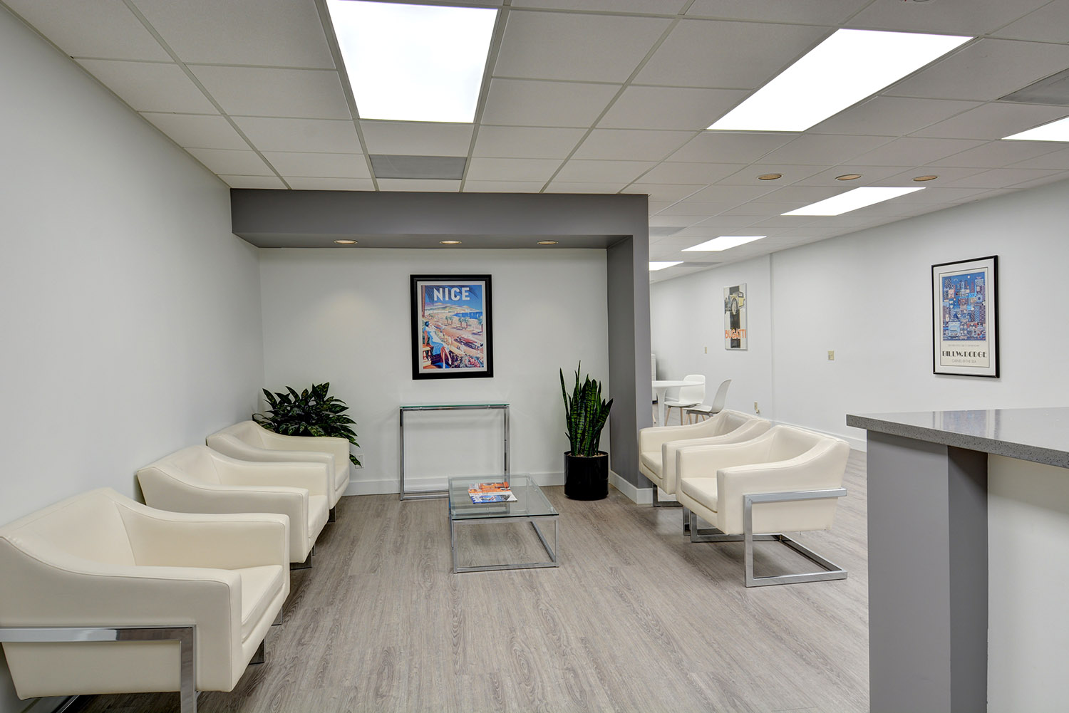 Receptionist Lobby - Virtual Offices in Fullerton