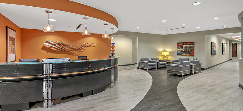 Charlotte Live Receptionist and Business Address Lobby