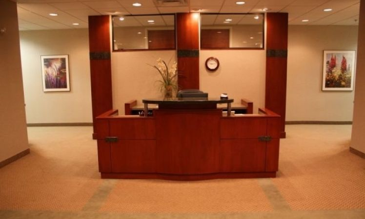 Receptionist Lobby - Virtual Offices in Louisville