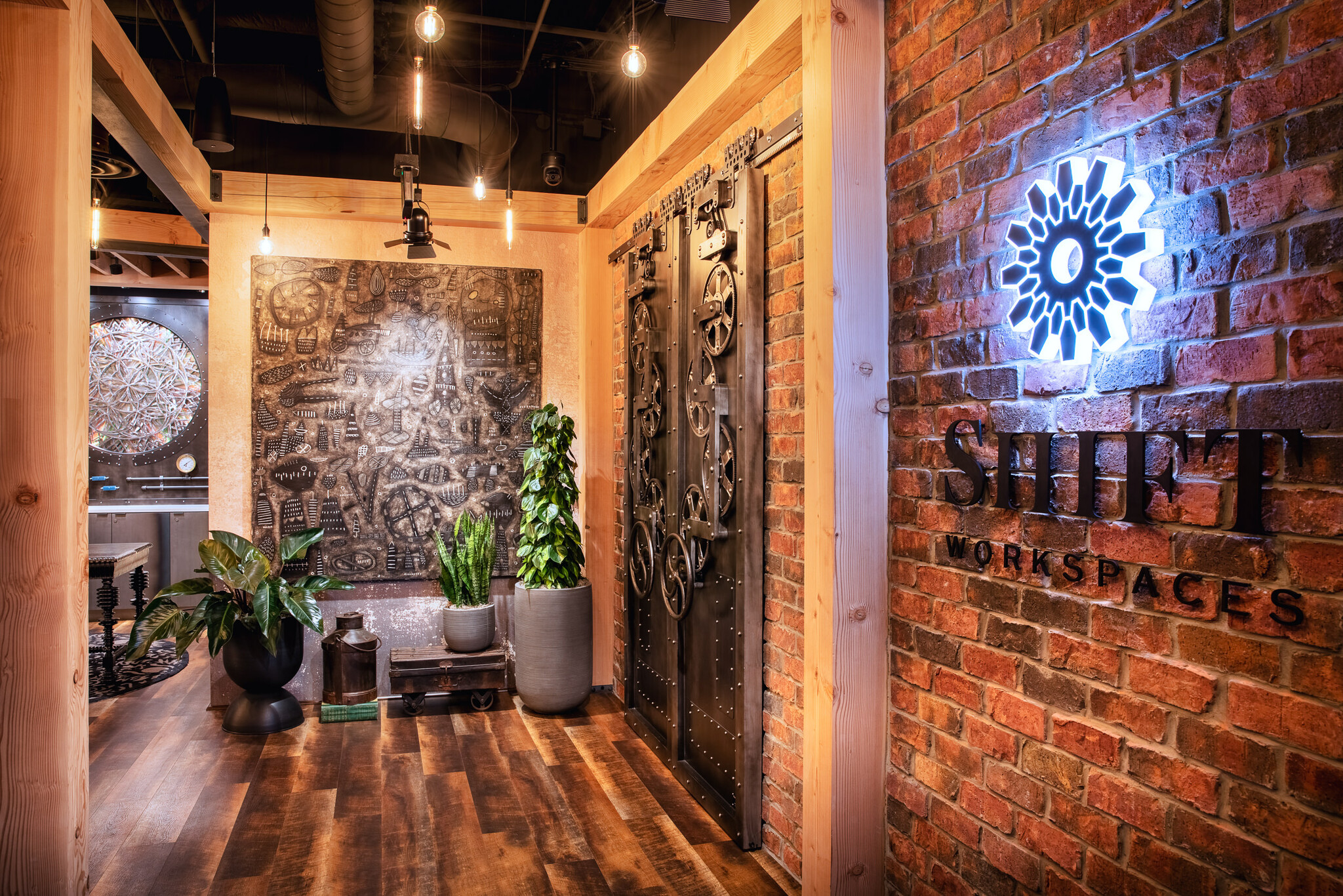 Receptionist and Mail Area - Littleton Virtual Office