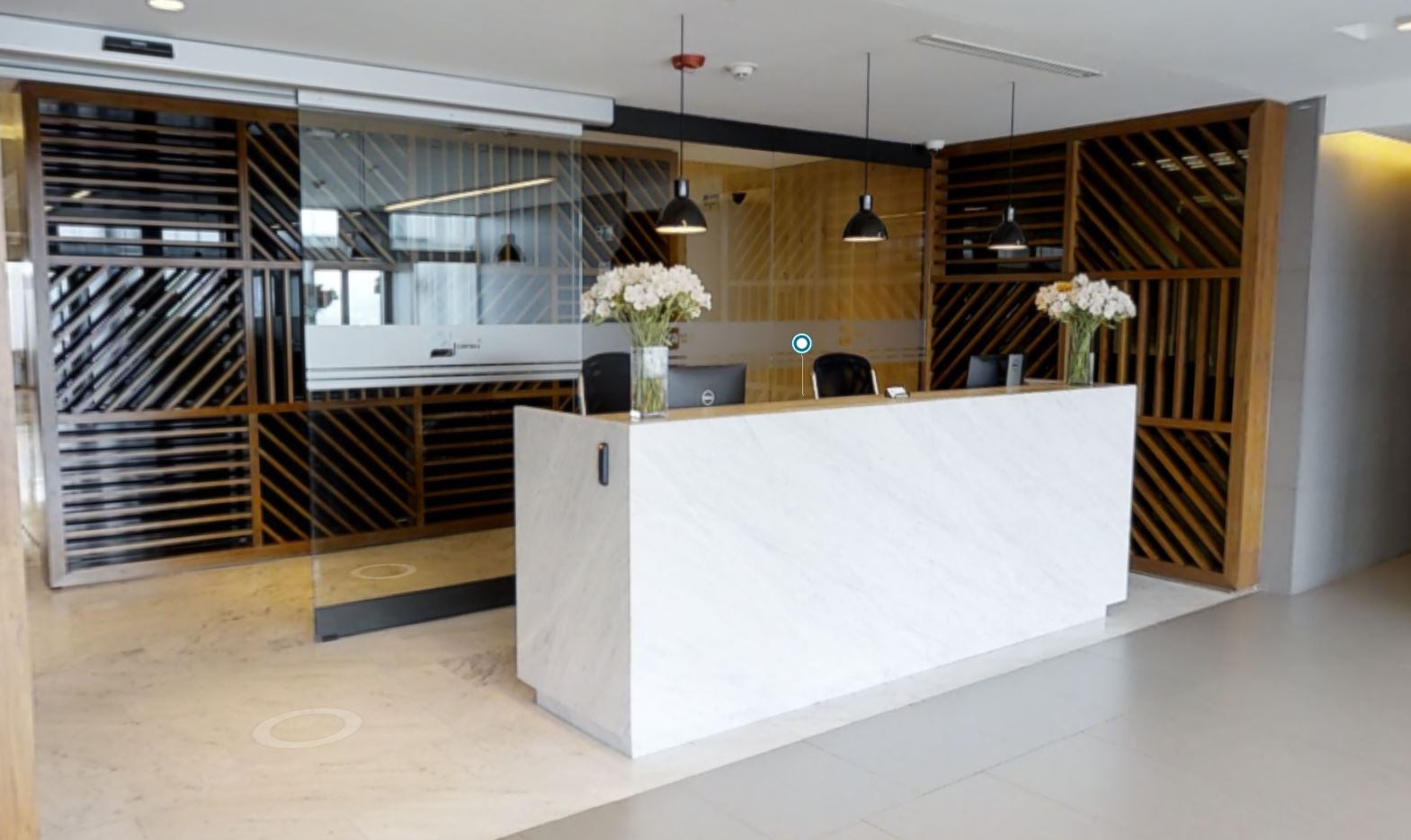 Mexico City Live Receptionist and Business Address Lobby