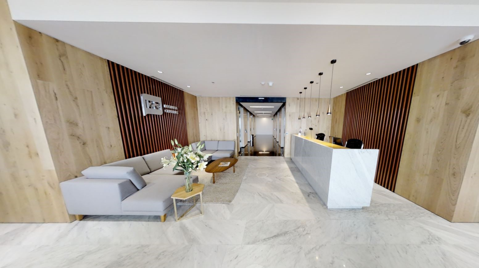 Receptionist and Mail Area - Mexico City Virtual Office