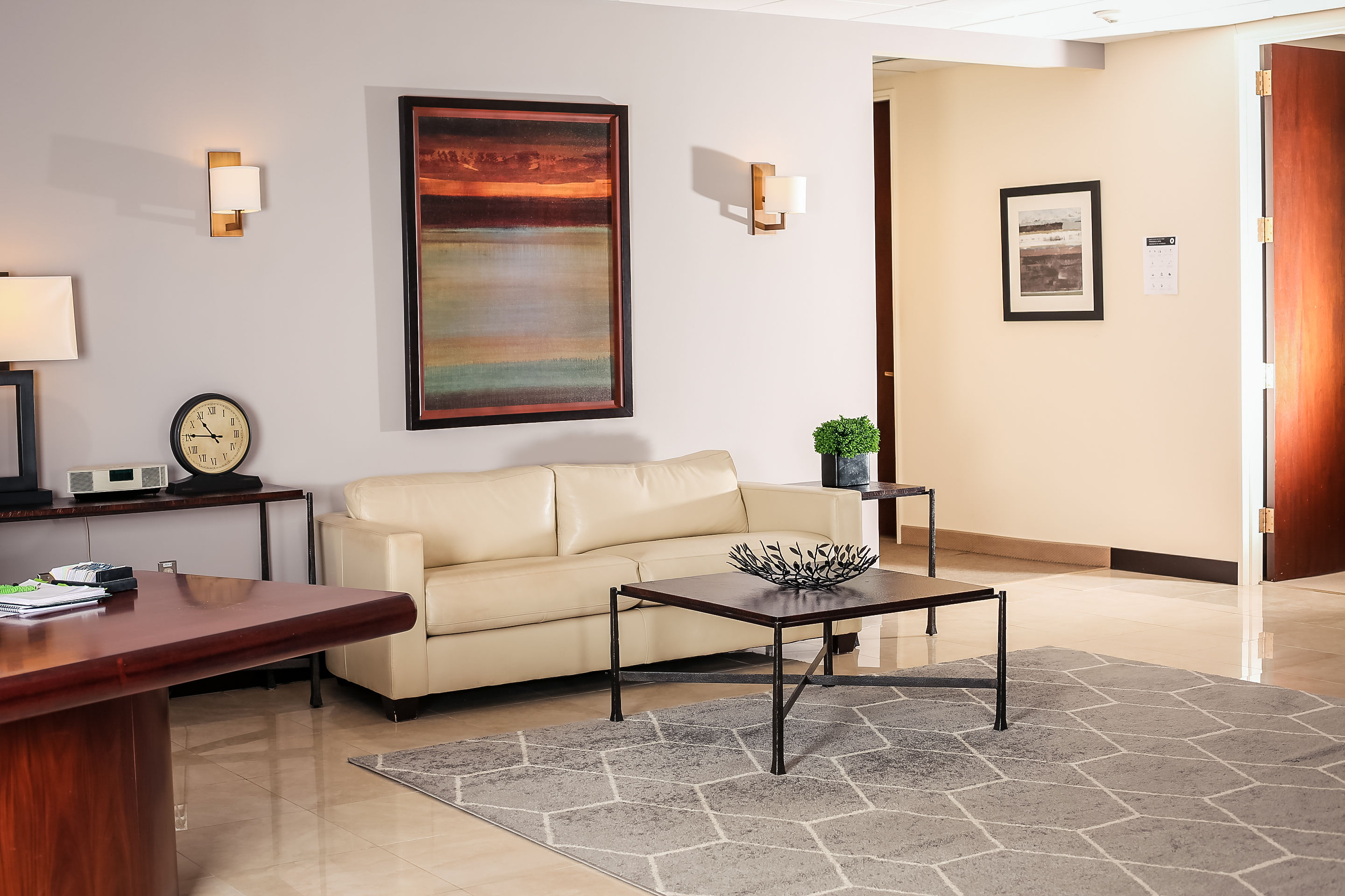 Receptionist Lobby - Virtual Offices in Framingham