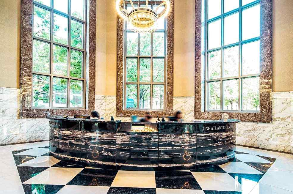 Receptionist Lobby - Virtual Offices in Atlanta