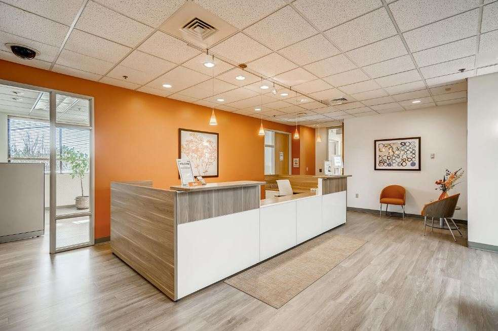 Receptionist and Mail Area - Louisville Virtual Office