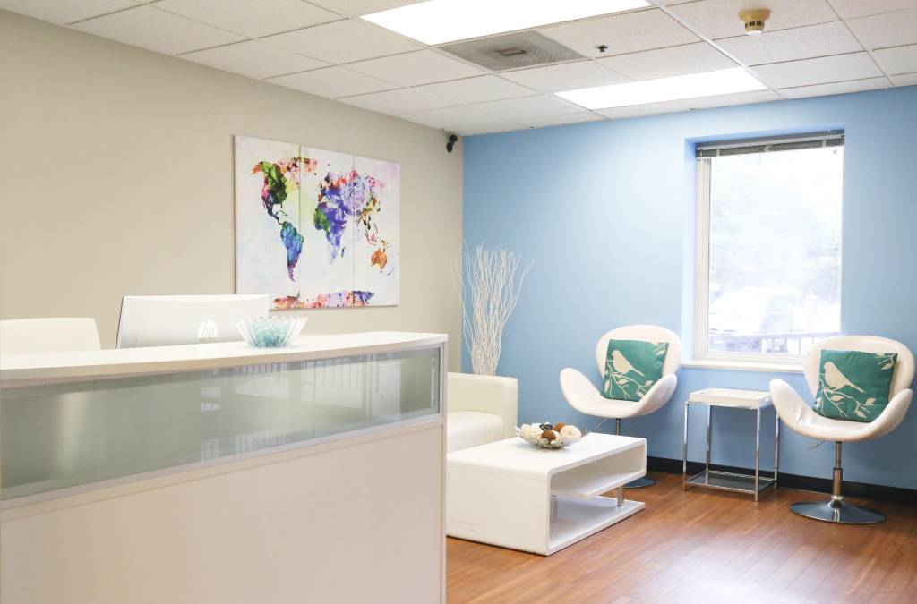 Receptionist and Mail Area - Beltsville Virtual Office