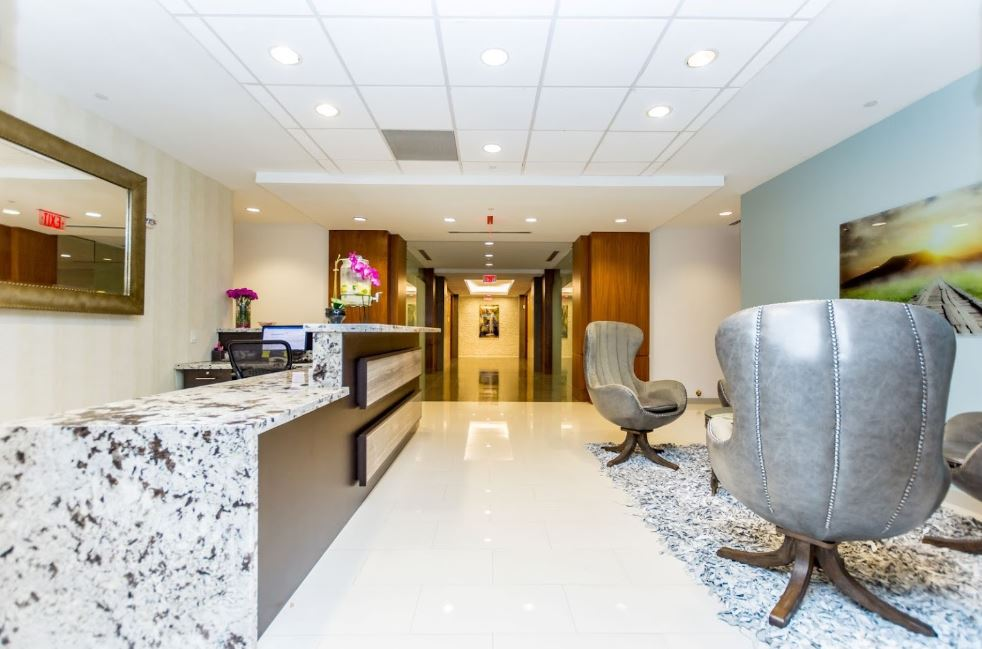 Receptionist Lobby - Virtual Offices in Coral Gables