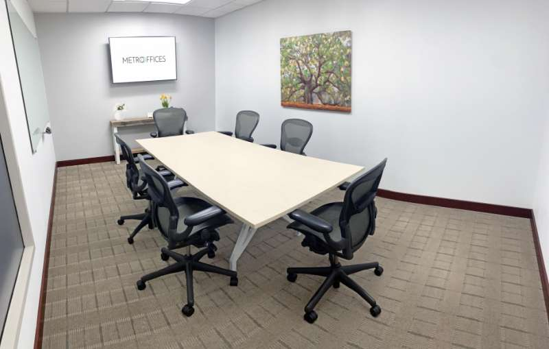 Stylish Chevy Chase Meeting Room