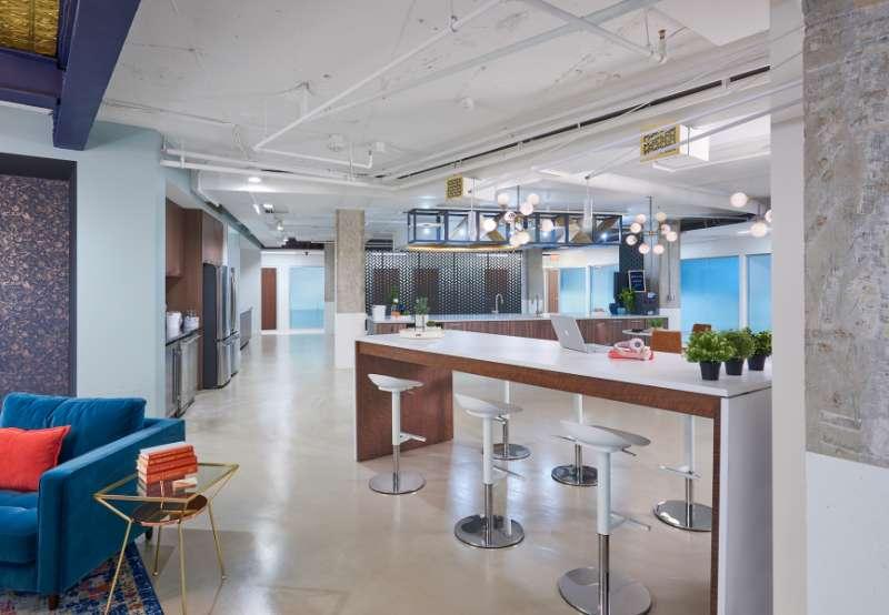 Washington Virtual Office Address - Lounge Commons Area