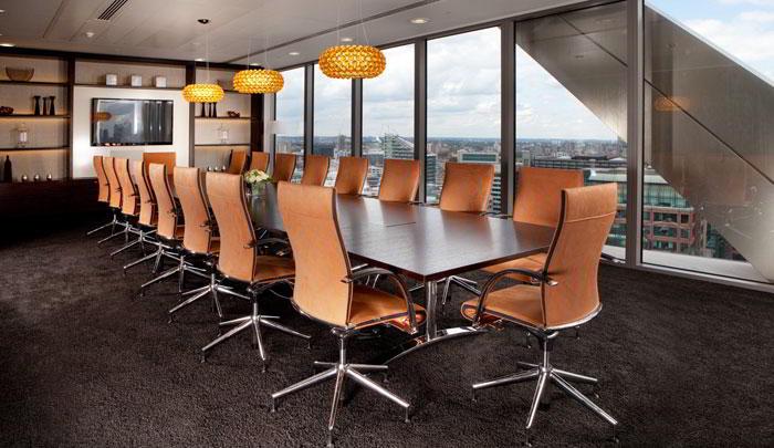 Stylish London City Meeting Room