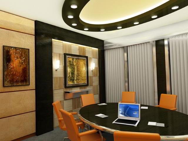 Stylish Dubai Meeting Room