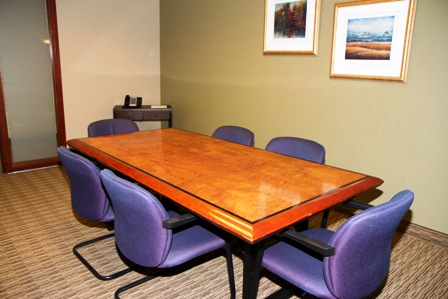 Stylish Salt Lake City Meeting Room