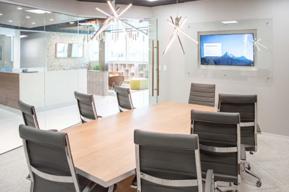 Stylish Allen Meeting Room