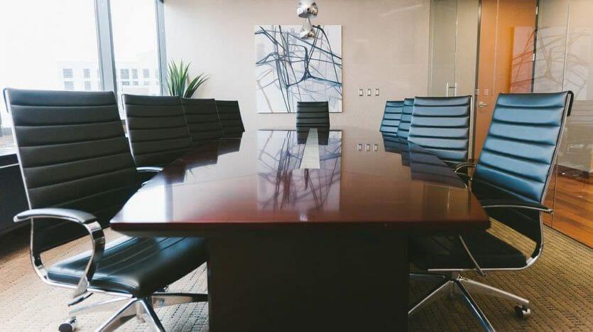 Stylish Dallas Meeting Room
