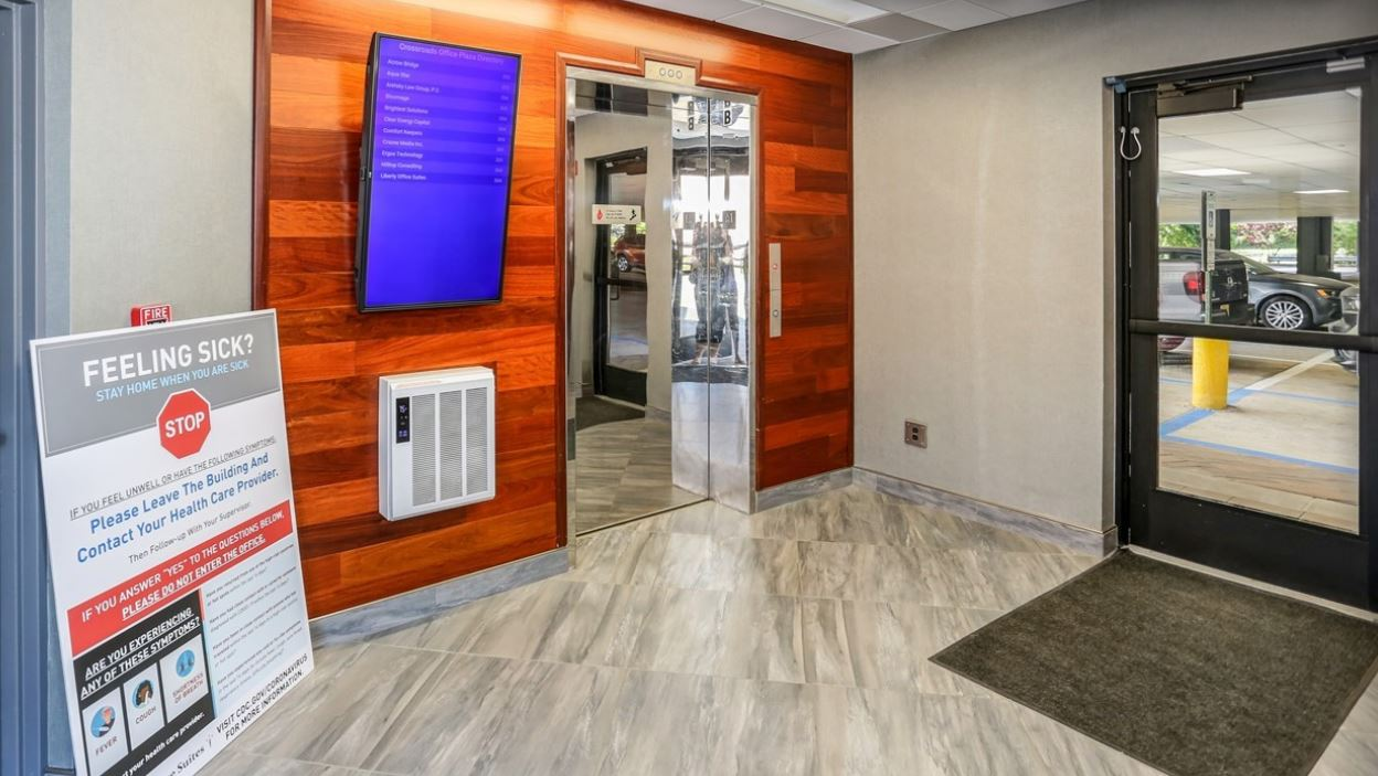 Parsippany Virtual Office Address - Lounge Commons Area