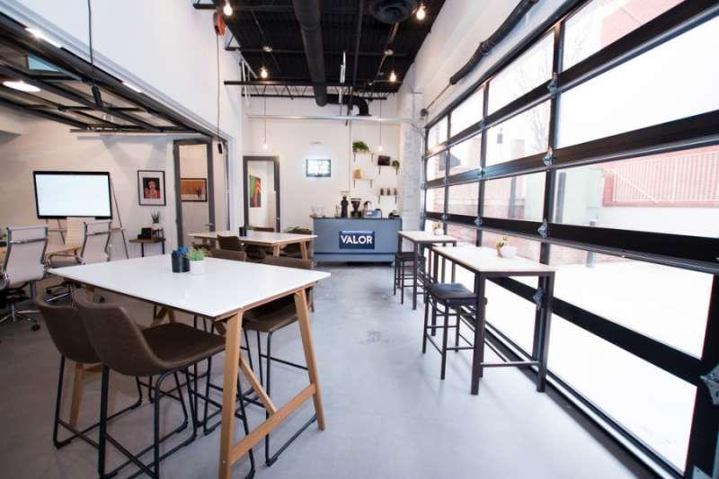 Alpharetta Busines Address - Lounge Area