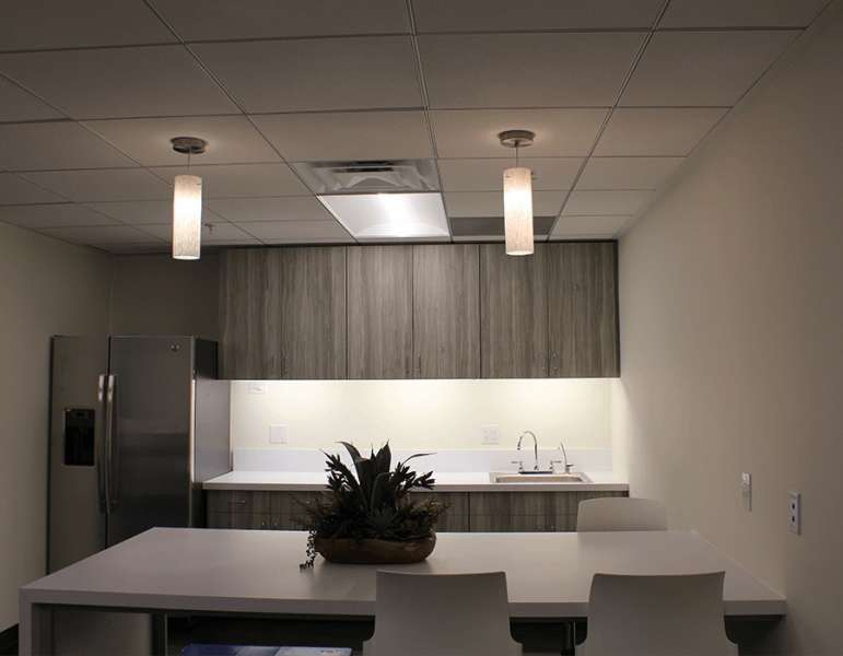 Break Area in Long Beach Virtual Office Space