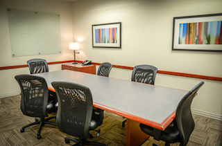 Turnkey Orange Conference Room