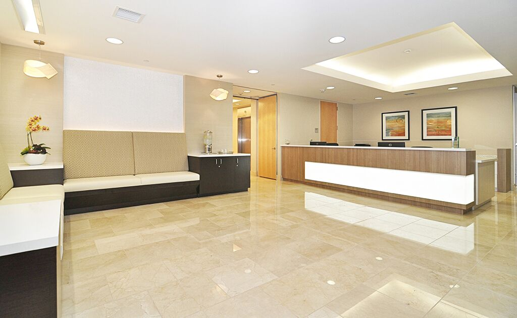 Santa Monica Live Receptionist and Business Address Lobby