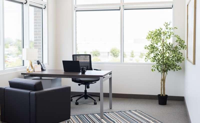 Temporary Plano Office - Meeting Room