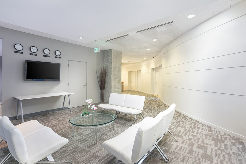 Receptionist Lobby - Virtual Offices in Beverly Hills