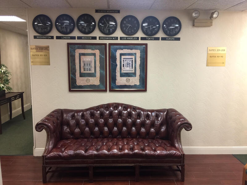 Receptionist and Mail Area - Hollywood Virtual Office