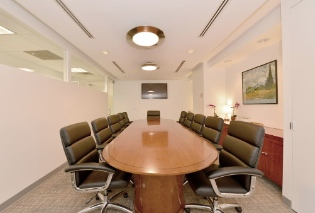 Conference room in New York