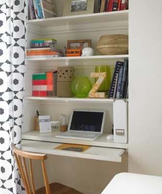 Home office designs - annoying alcoves