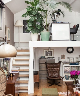 Home office designs - Mezzanine magic