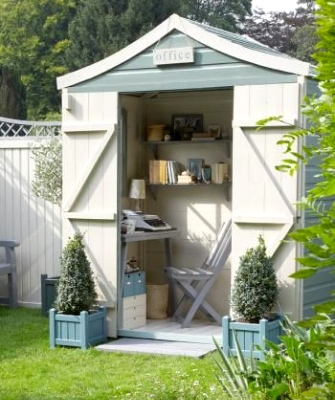 Home office designs - Spare shed