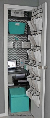 Home office designs - Clever closets