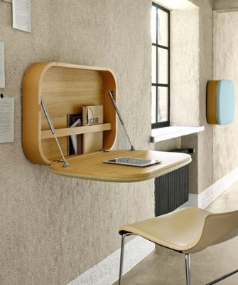 Home office designs - foldaway furniture