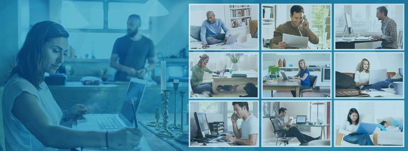 Remote Workers Work From Home