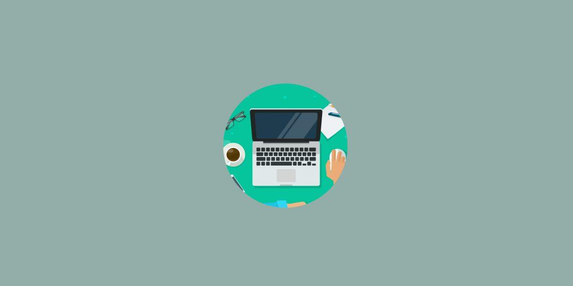 remote work - laptop