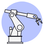 Imagine a robotic arm that is programmed to perform multiple tasks, such as drill holes and insert screws, while learning more to improve its efficiency.