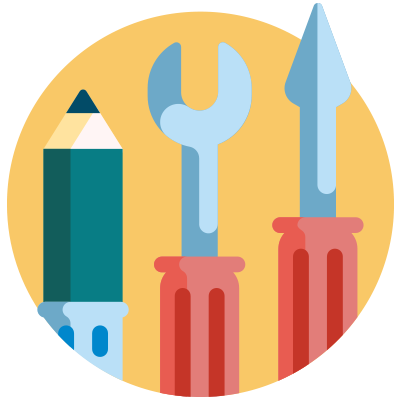 The 3 types of employment status include - worker - icon