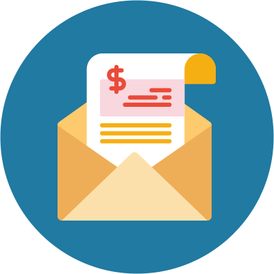 What Is The Difference Between A Contractor And An Employee? - submit invoices - icon