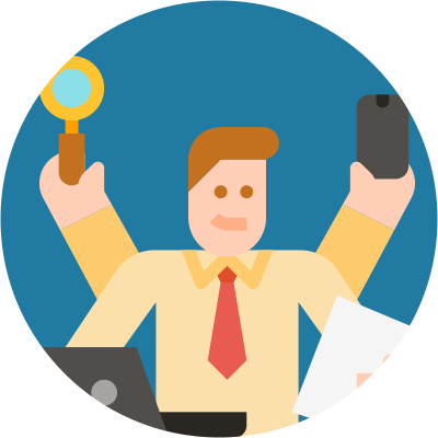 What Is The Difference Between A Contractor And An Employee? - juggle several jobs - icon