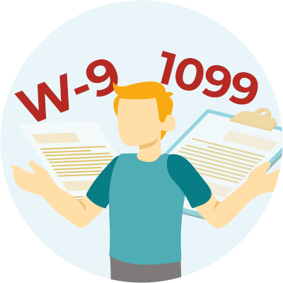 Differences Between A W-9, 1099-NEC, and 1099-MISC section