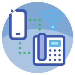VoIP system icon