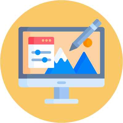 wix vs shopify section editing icon