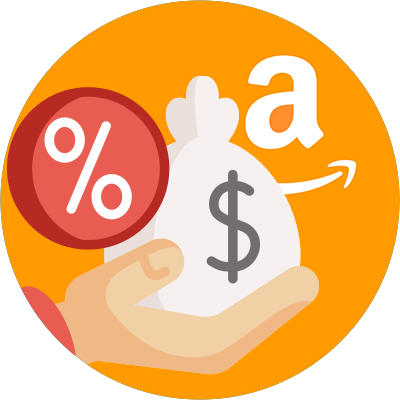 Amazon will take a percentage out of every single sale you make.