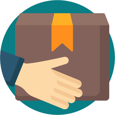 Self-fulfillment is a good option for companies wanting full control over their fulfillment process icon