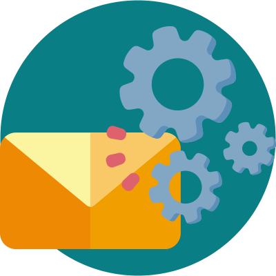 4 Essential Tools to Outperform Your Competition - automated email - icon