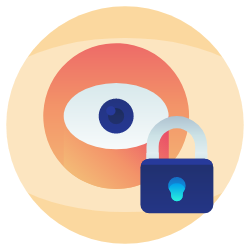 Our plans offer mail handling and mail forwarding, to protect your privacy and also protect your home from overwhelming amounts of junk mail – and prying eyes icon