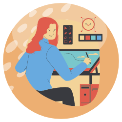 Mental And Physical Health - inspirational workspace - icon