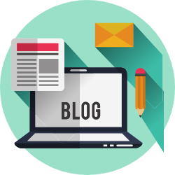 What Should Your Website Do? - blogging - icon