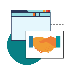 Considering the U.S. Small Business Administration recommends companies with less than $5 million in revenue should allot 7 to 8% of their revenue to marketing, having a website is a bargain. - statistic icon