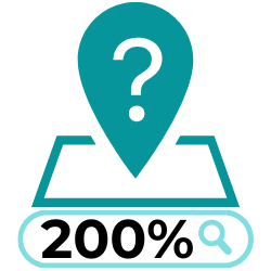 "Even more staggering, 2019 research from Think with Google revealed that ""where to buy"" and ""near me"" Google inquiries shot up over 200% vs the two years prior. This shows that people are relying heavily on search engines to find local businesses that they can purchase from."